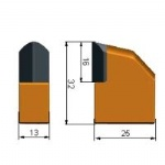 D13-H32-L25 HDD pick-bits-tips