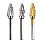 Round Nose Tree Shape Carbide Burs